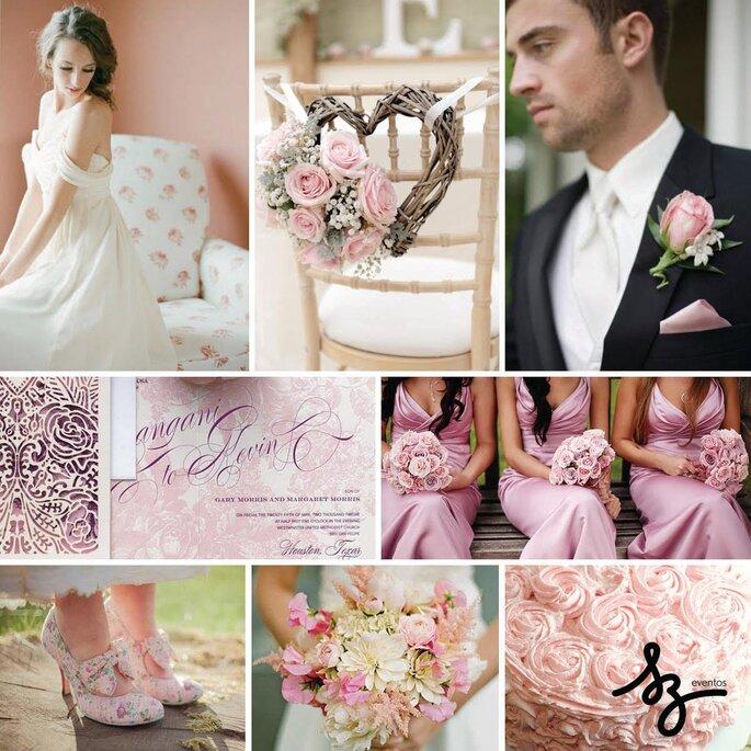 Inspiración Floral Pink para tu boda