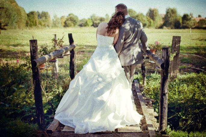 Utiliza un vestido de novia usado para tu boda - Foto: David Uno