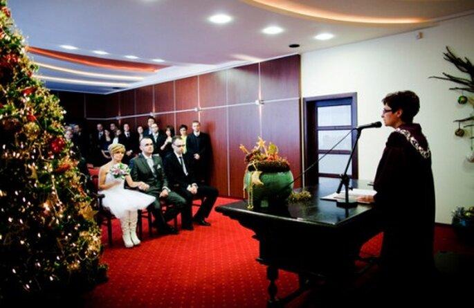 Celebra tu boda en Navidad. Fotografía: Natalia Chmieloviek