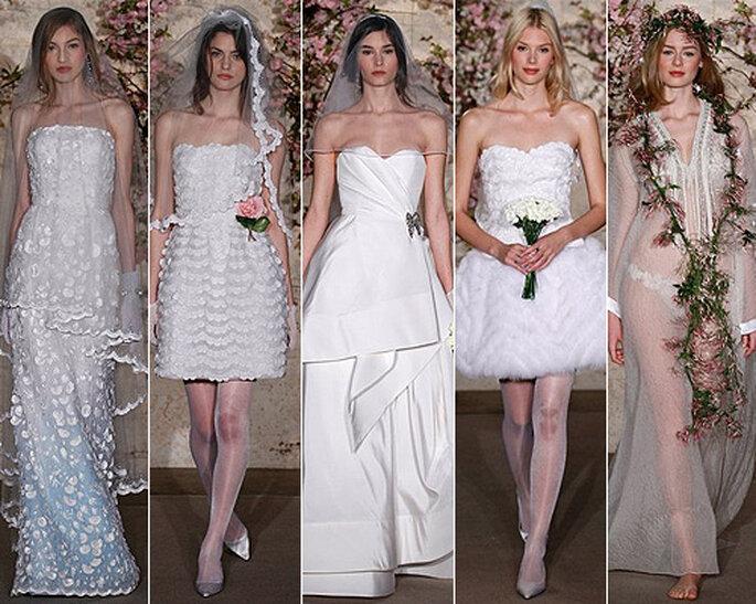 Robes de mariée Oscar de la Renta 2012