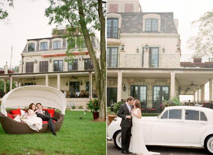 Cómo organizar una boda en casa. Foto de Jen Lynne Photography