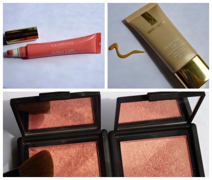 Esteè Lauder, Clarins y Nars son tres de mis marcas básicas de maquillaje. Foto: Timmy Ling