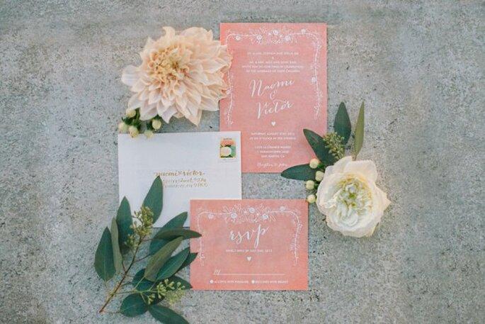 Los colores perfectos para decorar una boda en 2015 - Foto Delbarr Moradi Photography
