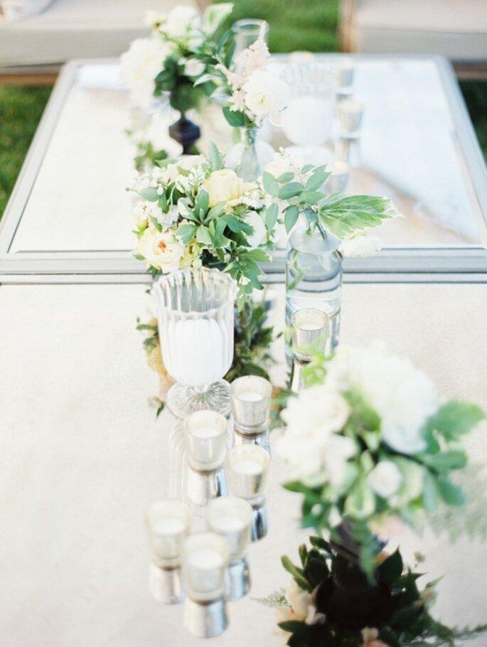 Los colores perfectos para decorar una boda en 2015 - Foto Erich McVey Photography