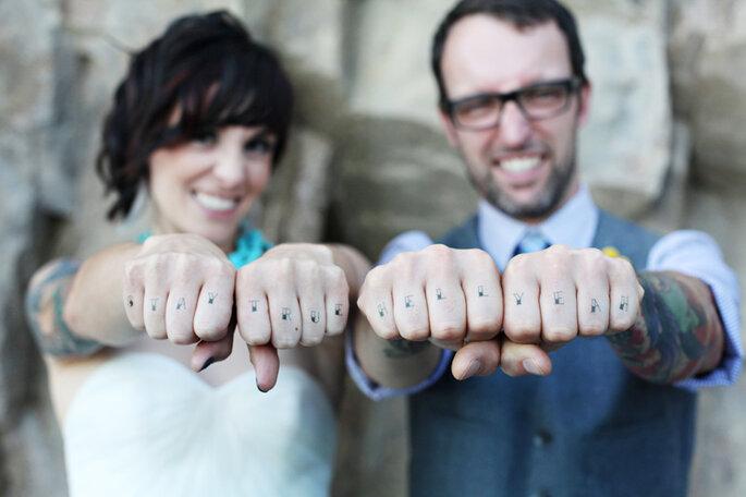 Foto via Inked Weddings