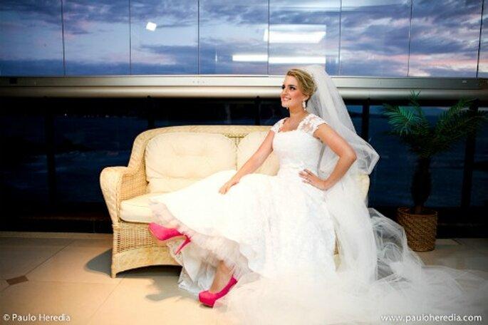 Robe de mariée sur mesure : on a toutes les raisons d'en vouloir une ! - Photo : Paolo Heredia