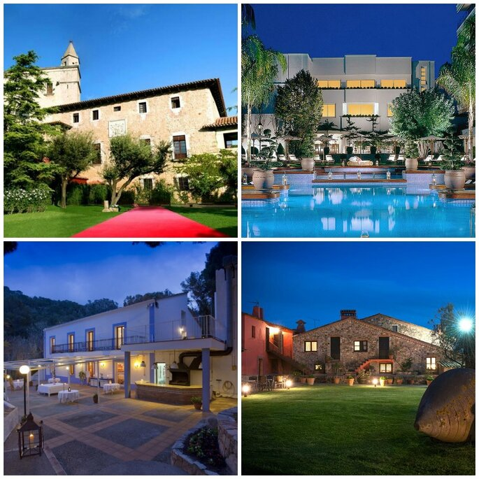 Hotel Palau Lo Mirador, Alva Park, Parador de Aiguablava y Sallés Hotel Mas Tapiolas