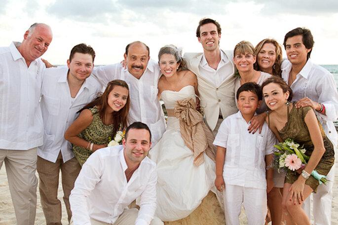 Sesión fotográfica en familia. Foto de Pepe Orellana