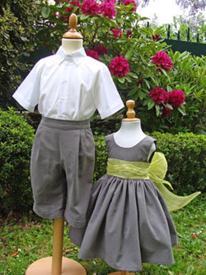 Tenues d'enfants d'honneur - Couture Adecoat