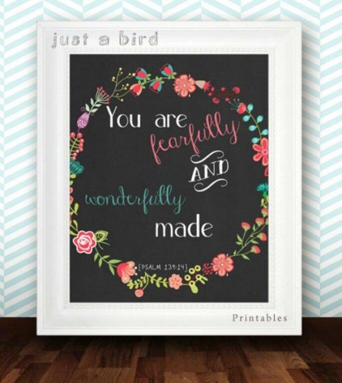 Foto: Just A Bird Printables vía Etsy