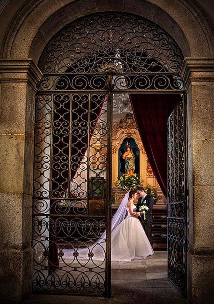 Heiraten auf einer alten Burg bleibt unvergesslich – Foto: Antonio Mendes