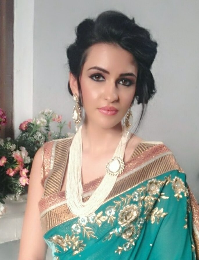 Makeup Artist: Zubair Shaikh.
