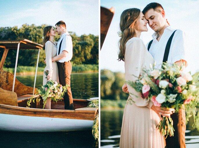 Романтическая фотосессия на озере