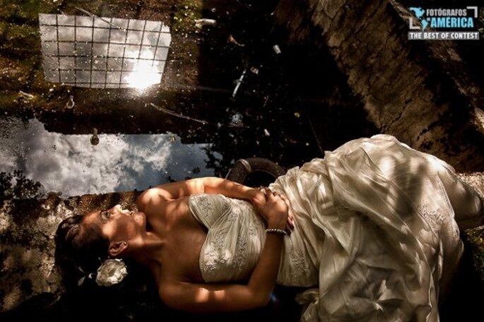 Poses para fotos de novia.Foto de Arturo Ayala, Fotógrafos de Ámerica.