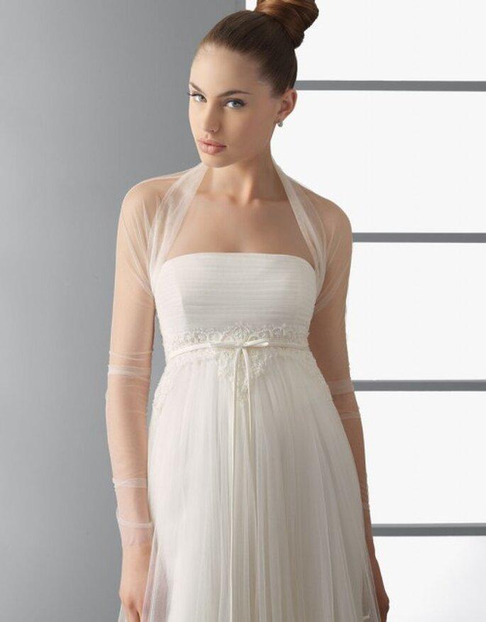 Vestido de novia corte imperio, Aire Barcelona 2012