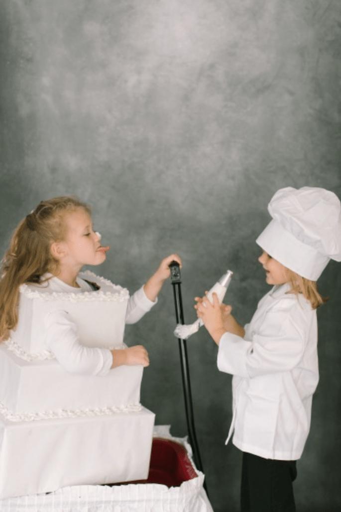 Fórmulas para disfrutar a los invitados más pequeños en tu boda - Foto Ruth Eileen Photography