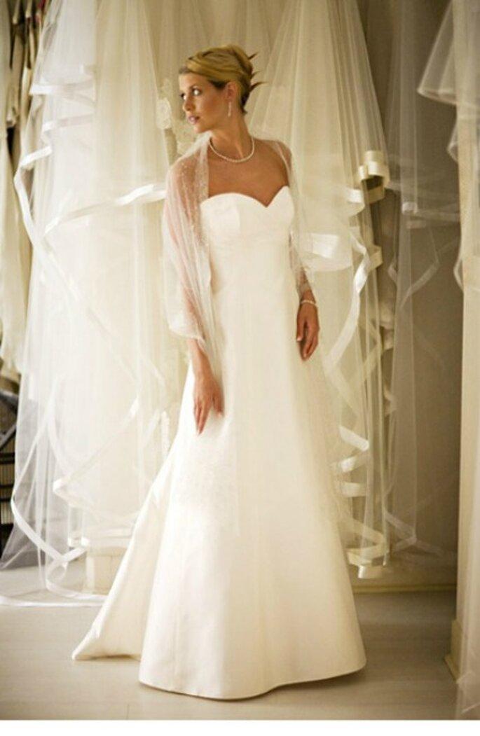Robe de mariée bustier 2013 - Olivier Portais