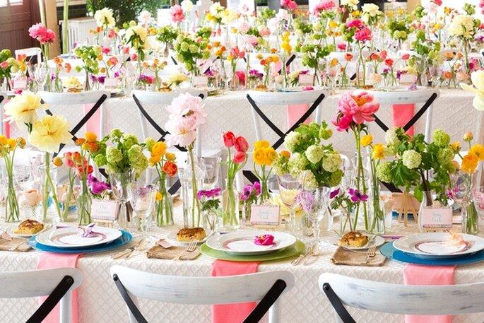 Preguntas clave para elegir al proveedor de flores para boda - Foto Blaine Siesser Photography