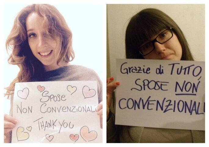 Sonia de Il Cuore della Sposa e Francesca Favotto di We for Wedding