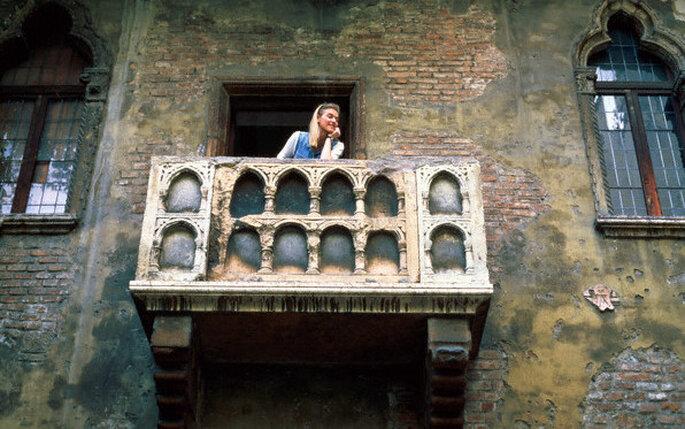 El balcón más famoso de Verona para tu boda