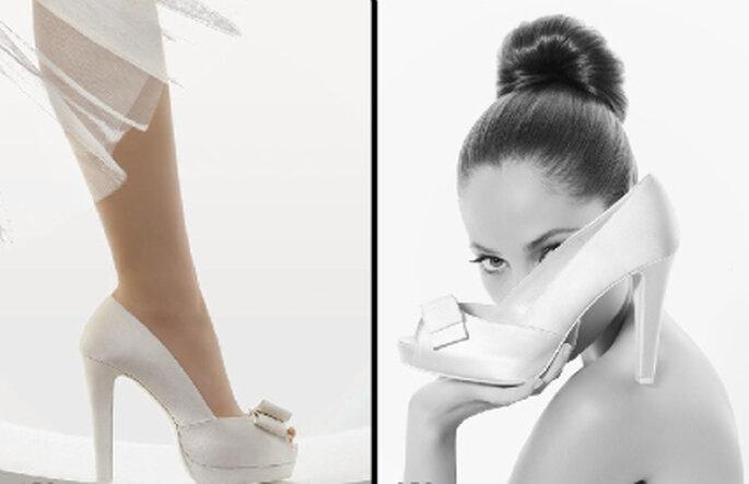 Sapatos de Noiva Rosa Clará 2011