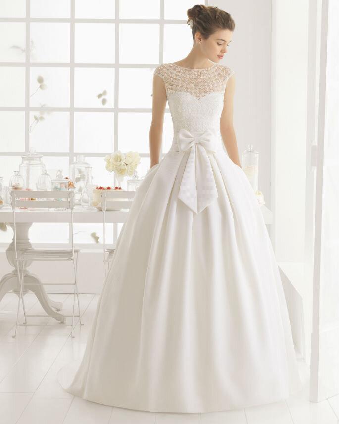 Los detalles estrella para tu vestido de novia: los lazos