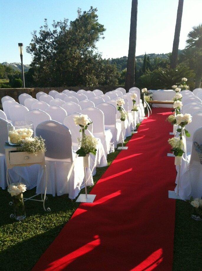 Mediterrane Hochzeit im Marriott Hotel in Denia