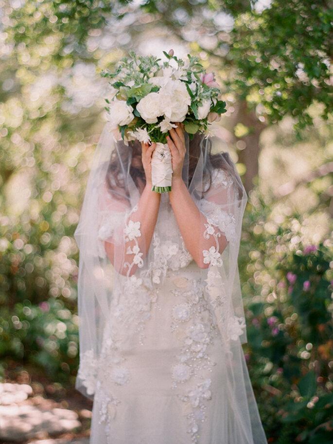 La belleza de las novias veladas - Foto Elizabeth Messina