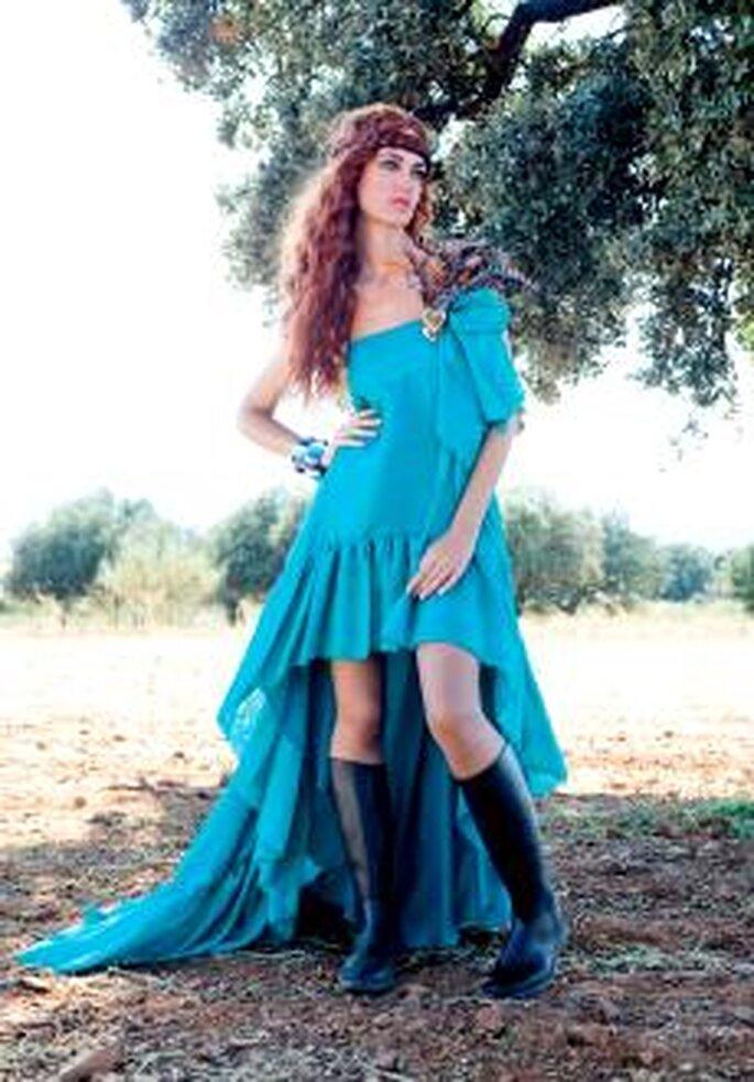 Colección de vestidos de fiesta Matilde Cano 2010