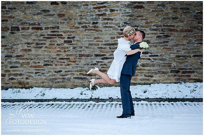 Hochzeitsfotosession im Schnee - unsere Auswahl an wunderschönen Orten in Deutschland