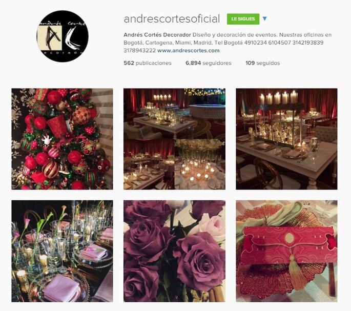 Imagen Vía Instagram Andrés Cortés