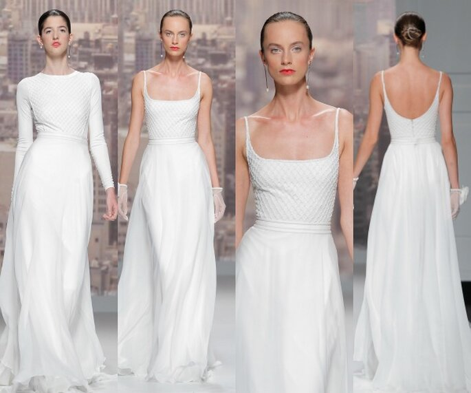Rosa Clará, collection 2015. Photo: Barcelona Bridal Week
