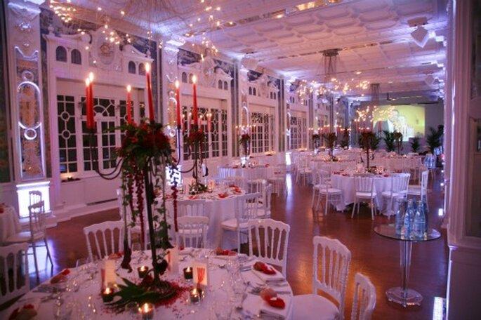 Mariage en hiver : on joue avec la décoration - Crédit photo : Zontone & associés