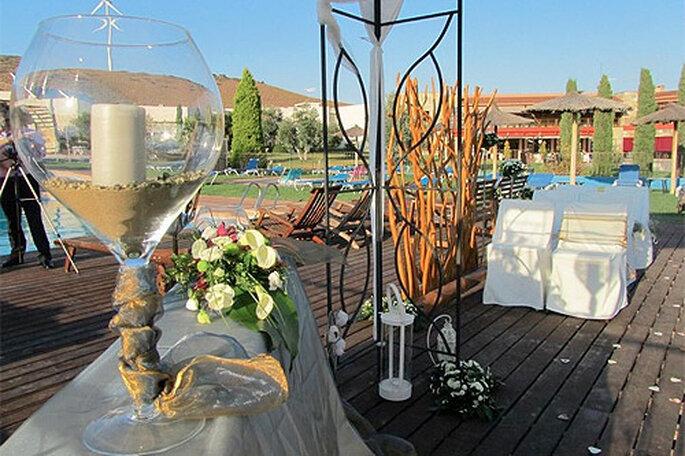 Un fin de semana relajante antes del gran día puede ayudar a calmar los nervios de la boda. Foto: Hotel &SPA Villa Nazules