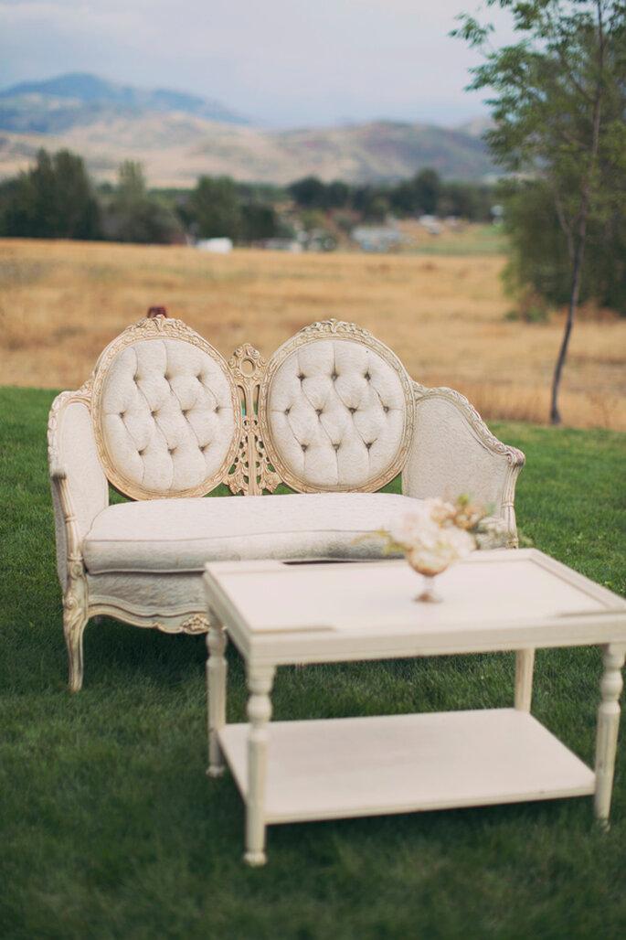 Muebles estilo vintage. Foto: Alixann Loosle Photography