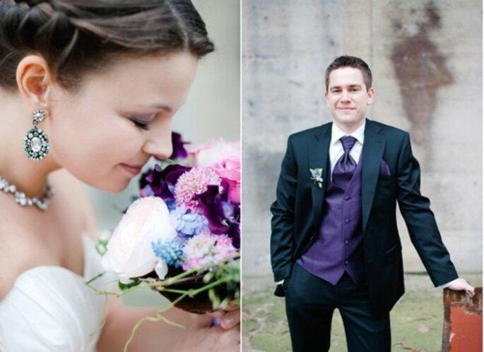 Tendencia en ramo de novia 2012. Fotografía Nadia Meli