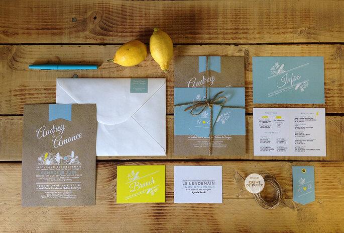 Foto: Invitaciones Creme De Papier