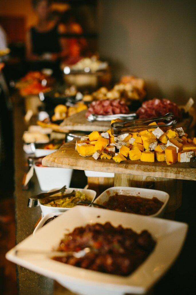 Buffet ene le banquete de tu boda - Foto Pen/Carlson