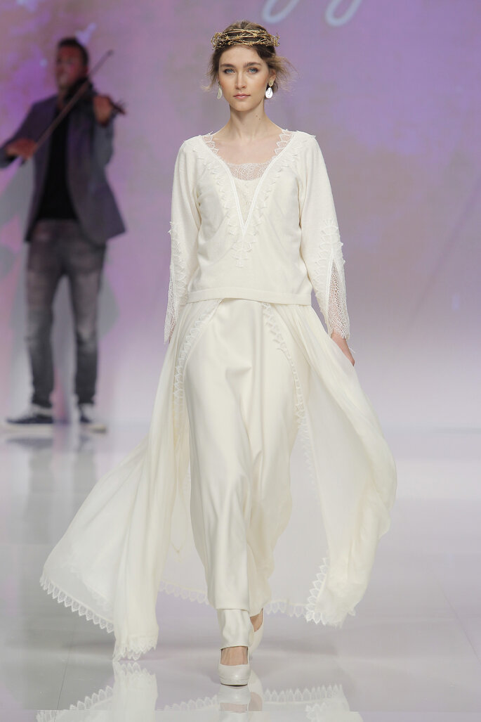 Foto: Marylise en Barcelona Bridal Week