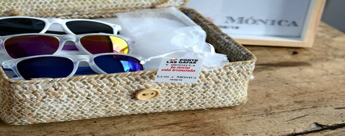gafas de sol para boda