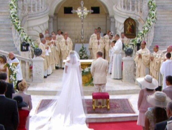 Die Hochzeit von Charlene Wittstock und Fürst Albert II. von Monaco