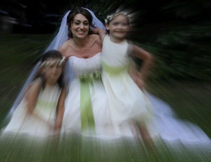 La nostra sposa Raffaella sorridente e felice. Foto di Cristiano Denanni Fotografica Torino