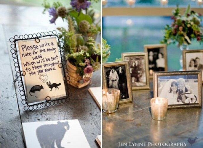 Organizar una boda es un proyecto común.Foto: Jen Lynne
