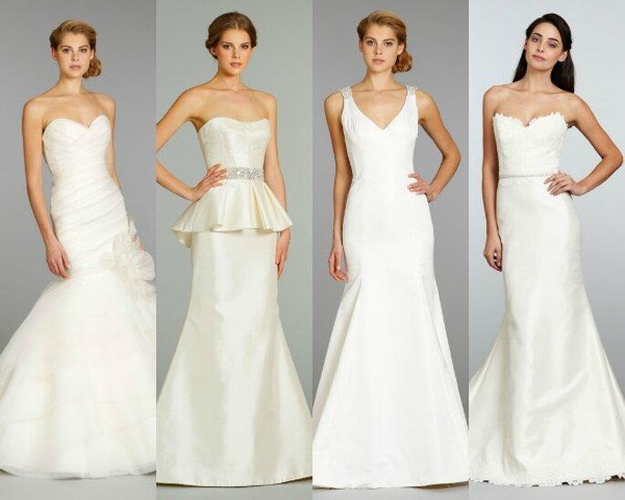 Vestido de novia corte sirena de Alvina Valenta, Jim Hjelm y Tara Keely en JLM Couture