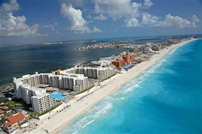 Luna de miel en Cancún