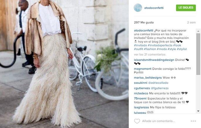 Imagen vía Instagram A todo Confetti