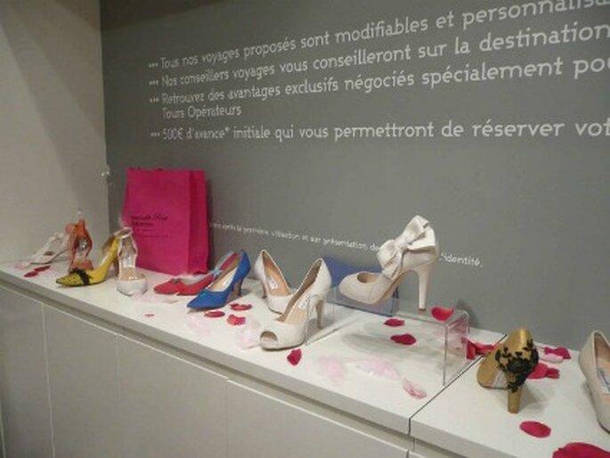 Zapatos de novia Mademoiselle Rose