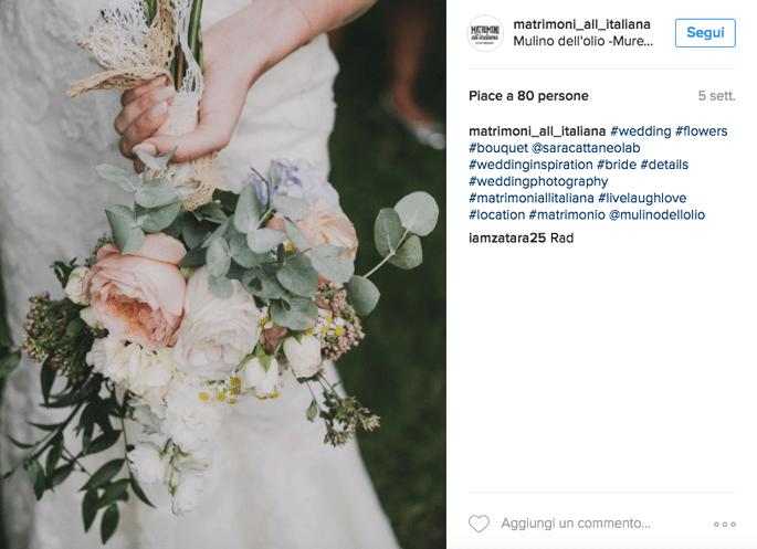 Foto Instagram: Matrimoni all'italiana