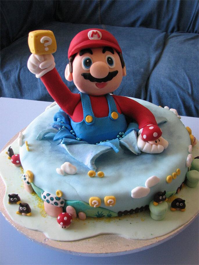 Gâteau Mario - Korben.info