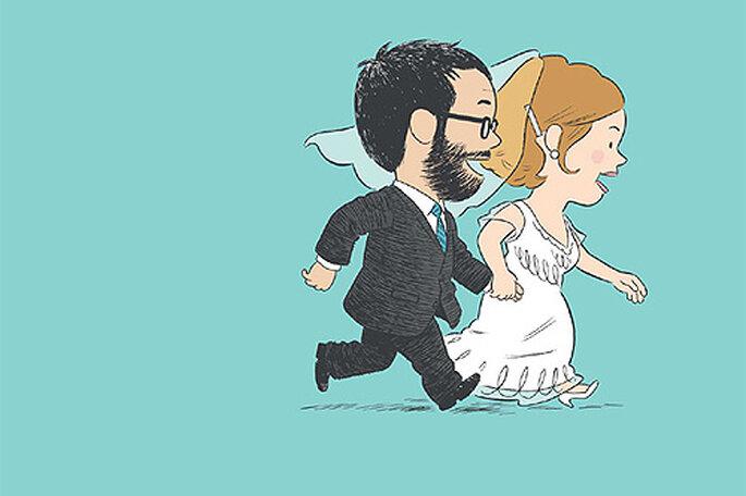 Portada del cómic 'Escenas de un matrimonio inminente'. Foto: Editorial Sins entido.